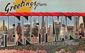 LLT300127 - Pennsylvania, USA Postcard Post Cards