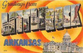LLT300128 - Little Rock Arkansas, USA Postcard Post Cards