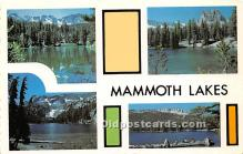 Mammoth Lakes CA