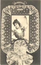lac000001 - Lace postcard postcards