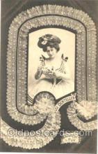 lac000002 - Lace postcard postcards