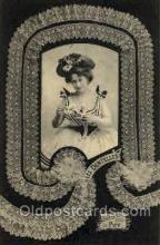 lac000014 - lace, knitting, sewing, Postcard Postcards