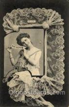 lac000017 - lace, knitting, sewing, Postcard Postcards