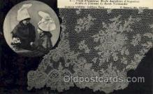 lac000031 - lace, knitting, sewing, Postcard Postcards