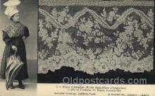 lac000034 - lace, knitting, sewing, Postcard Postcards