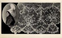 lac000037 - lace, knitting, sewing, Postcard Postcards