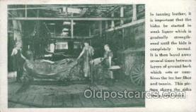 lea001001 - Hermann Oak St.Louis, tanning leather Leather Harness Postcard Postcards