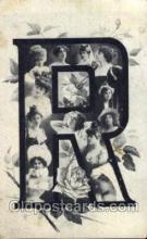 let001040 - R Old Vintage Antique Postcard Post Card