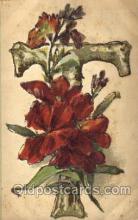 let001044 - T Old Vintage Antique Postcard Post Card