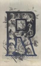 let001050 - R Old Vintage Antique Postcard Post Card
