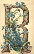 let001062 - R Old Vintage Antique Postcard Post Card