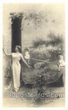 let001079 - L Old Vintage Antique Postcard Post Card