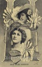 let001087 - H Old Vintage Antique Postcard Post Card