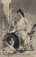 let001088 - L Old Vintage Antique Postcard Post Card