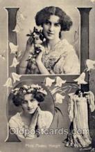 let001104 - H Old Vintage Antique Postcard Post Card