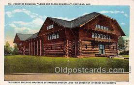 Forestry Building, Lewis & Clark Memorial