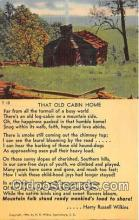Old Cabin Home