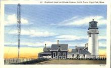 lgh001020 - Highland Light, Cape Cod, MA Light House, Houses Lighthouse, Postcard Postcards