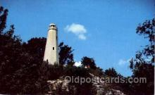 lgh001038 - Cardiff Hill, Hannibal, MO Light House, Houses Lighthouse, Postcard Postcards