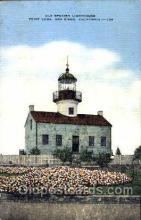 lgh001055 - Old Spanish, San Diego, CA Light House, Houses Lighthouse, Postcard Postcards