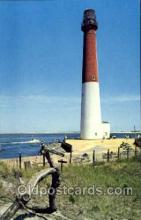 lgh001057 - Barnegat Light, New Jersey, NJ, USA Light House, Houses Lighthouse, Postcard Postcards