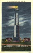 lgh001061 - Cape Henry, VA Light House, Houses Lighthouse, Postcard Postcards