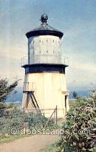 lgh001069 - Cape Mears Lighthouse, Tillamook, OR Light House, Houses Lighthouse, Postcard Postcards