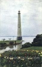 lgh001076 - Eddystone Lighthouse, St. Mary's, Ohio Light House, Houses Lighthouse, Postcard Postcards