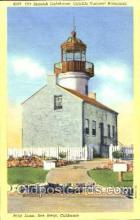 lgh001078 - Point Loma, San Diego, CA Light House, Houses Lighthouse, Postcard Postcards