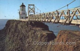 lgh001090 - Point Bonita, San Francisco, CA Light House, Houses Postcard Postcards