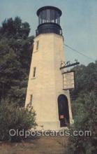 lgh001112 - Replica of Henlopen light house USA Lighthouse, Lighthouses Postcard Postcards