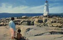 lgh001114 - Peggy's Cove lighthouse USA Lighthouse, Lighthouses Postcard Postcards