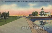 lgh001136 - U.S. Government lighthouse USA Lighthouse, Lighthouses Postcard Postcards