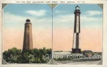lgh001146 - Cape Henry, Norfolk, Va. USA Lighthouse, Lighthouses Postcard Postcards