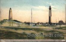 lgh001148 - Cape Henry lighthouse and wireless Station and Casino,Va. USA Lighthouse, Lighthouses Postcard Postcards
