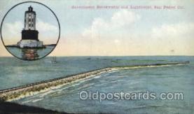 lgh001151 - San Pedro, California USA Lighthouse, Lighthouses Postcard Postcards