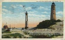 lgh001156 - Cape Henry Lighthouse USA Lighthouse, Lighthouses Postcard Postcards