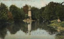 lgh001171 - Palmer Park, Detroit, Michigan USA Lighthouse, Lighthouses Postcard Postcards