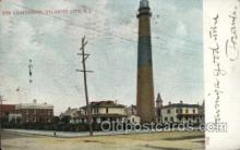 lgh001172 - Atlantic City N.J. USA Lighthouse, Lighthouses Postcard Postcards