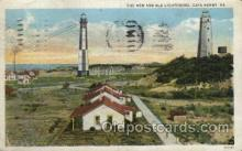 lgh001181 - Cape Henry, Va USA Lighthouse, Lighthouses Postcard Postcards