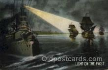 lgh001183 - Light on the Past USA Lighthouse, Lighthouses Postcard Postcards