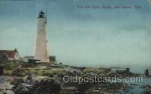 lgh001191 - New Haven, Conn USA Lighthouse, Lighthouses Postcard Postcards
