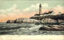 lgh004 - Portland Head Light, Oregon Light House, Houses Postcard Postcards