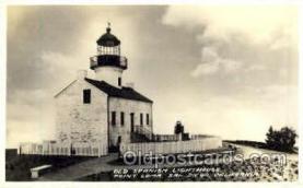 lgh010 - Old Spanish, San Diego, CA Light House, Houses Postcard Postcards