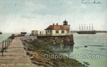 lgh100021 - Bug Light, Boston Harbor Maine USA Postcards Postcards