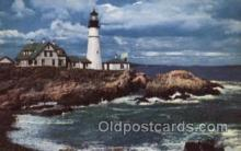 lgh100036 - Portland Head Light Maine USA Postcards Postcards