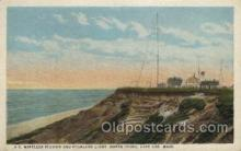 lgh100052 - U.S. Wireless Station, North Truro, Mississppi Maine USA Postcards Postcards