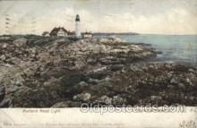 lgh100053 - Portland Headlight Maine USA Postcards Postcards