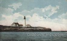 lgh100061 - Portland Head Light Maine USA Postcards Postcards