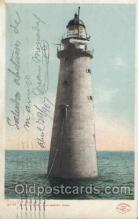 lgh200005 - Minot Ledge Light Massachusetts USA, Light House, Houses Lighthouse, LightHouses Postcard Postcards